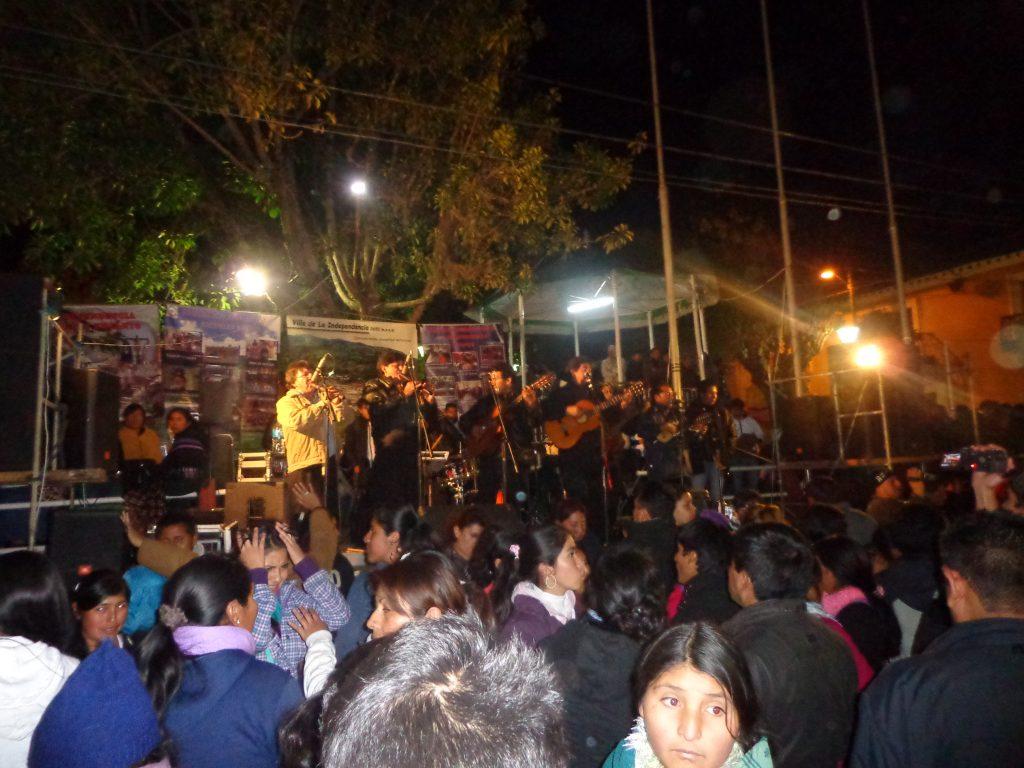 Zur Fiesta kamen viele Musiker.