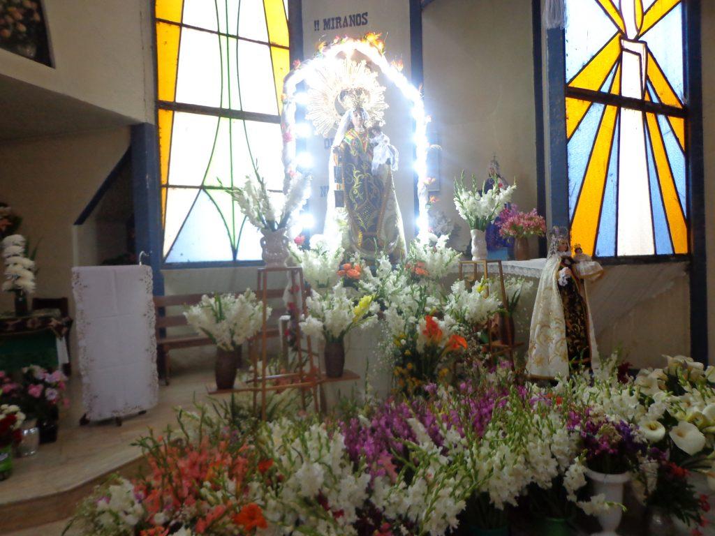 La virgen del Carmen - Zur Ehre der Jungfrau wird das Fest veranstaltet.