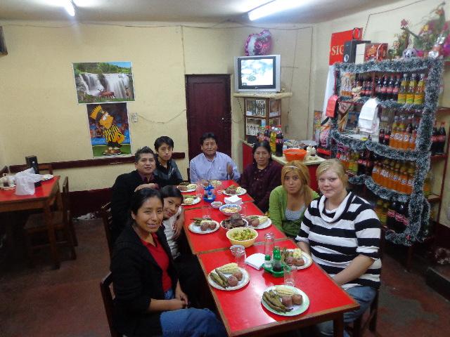 Besuch bei Elis Familie in La Paz