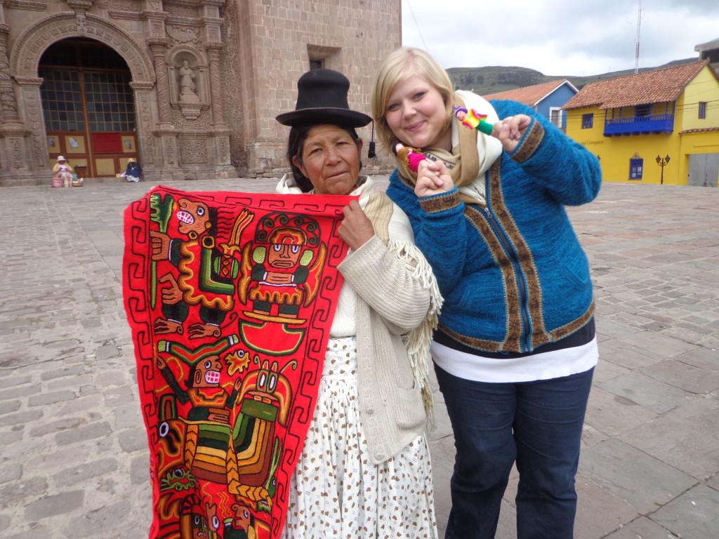 In Puno, Peru.