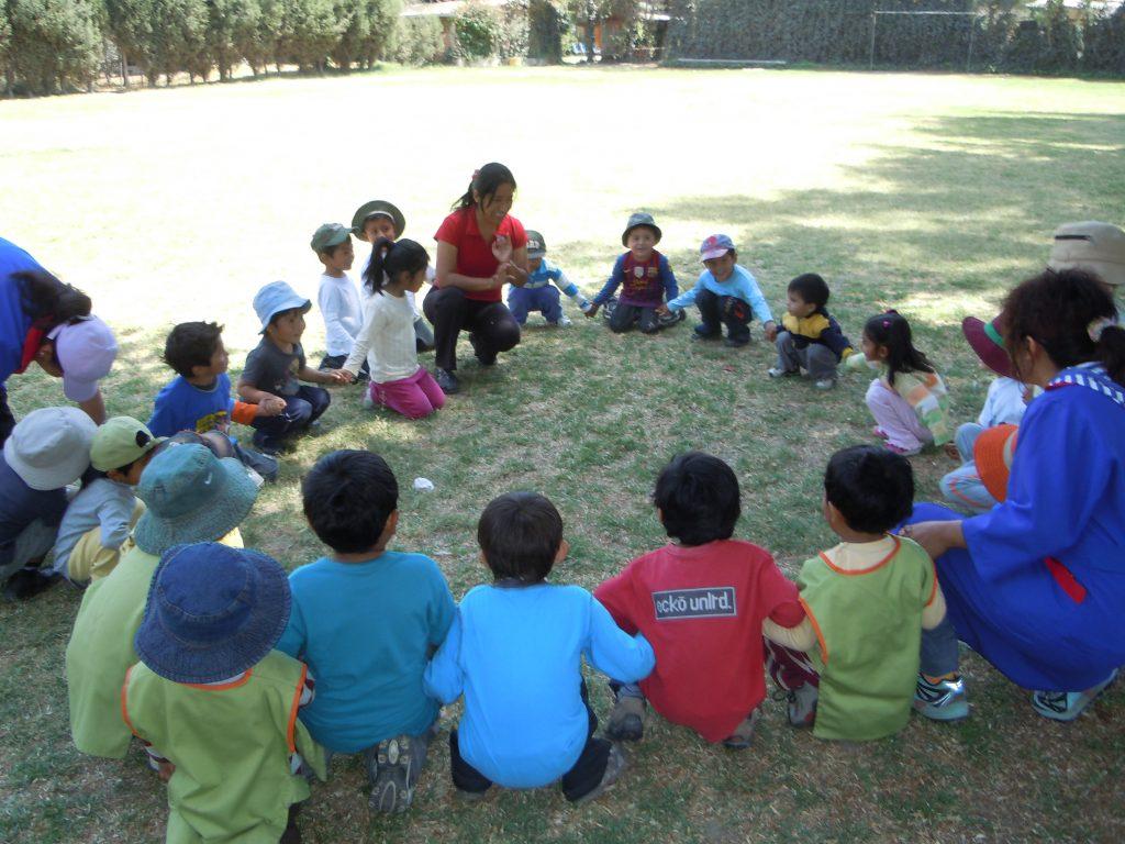 Ausflug nach CADECA mit der Kinderkrippe - September 2012
