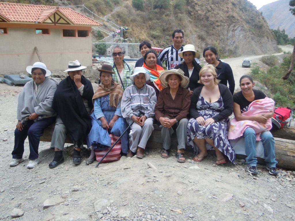 Mit den Seniorinnen in Liriuni (Therme) - Oktober 2012