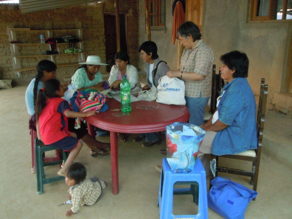 Stickprojekt in Uspa Uspa - September 2012