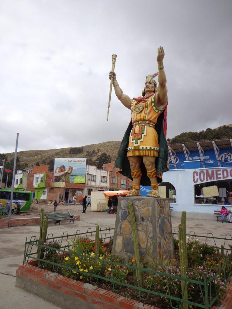Inka-Statue