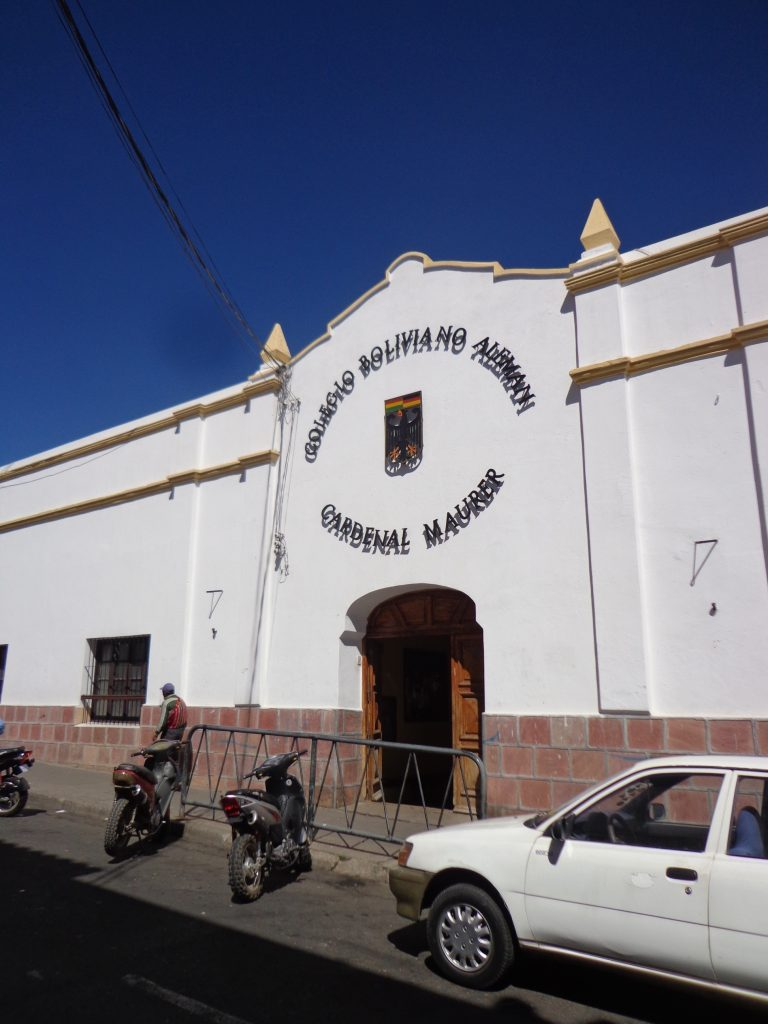 Die deutsch-bolivianische Schule