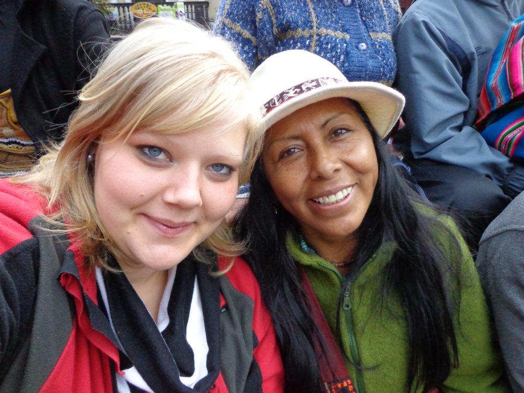 Mit Senovia, einer Freundin von Philipp.
