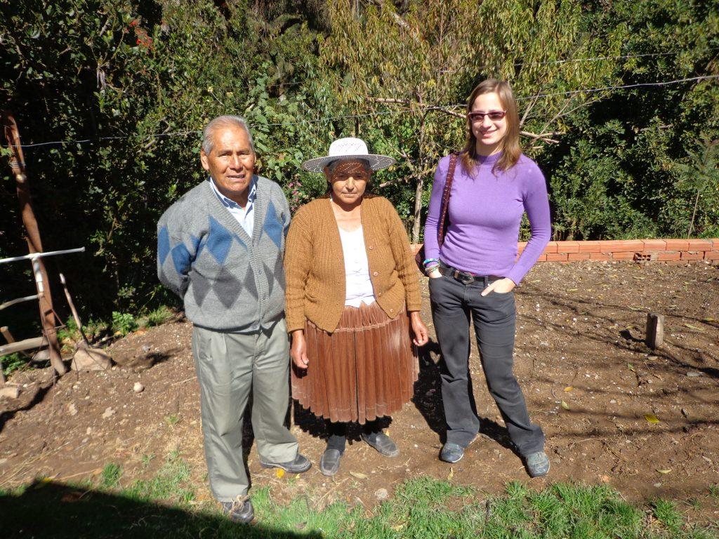 Zu Besuch bei Do~na Filiberta und Don Andrés.