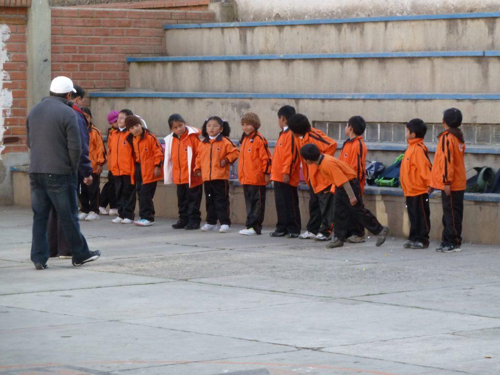 Die Kolping-Schule in La Paz.