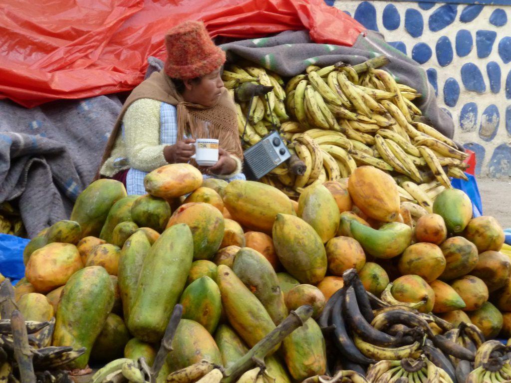 Ich liebe diese Foto, weil es für mich so bolivianisch ist...