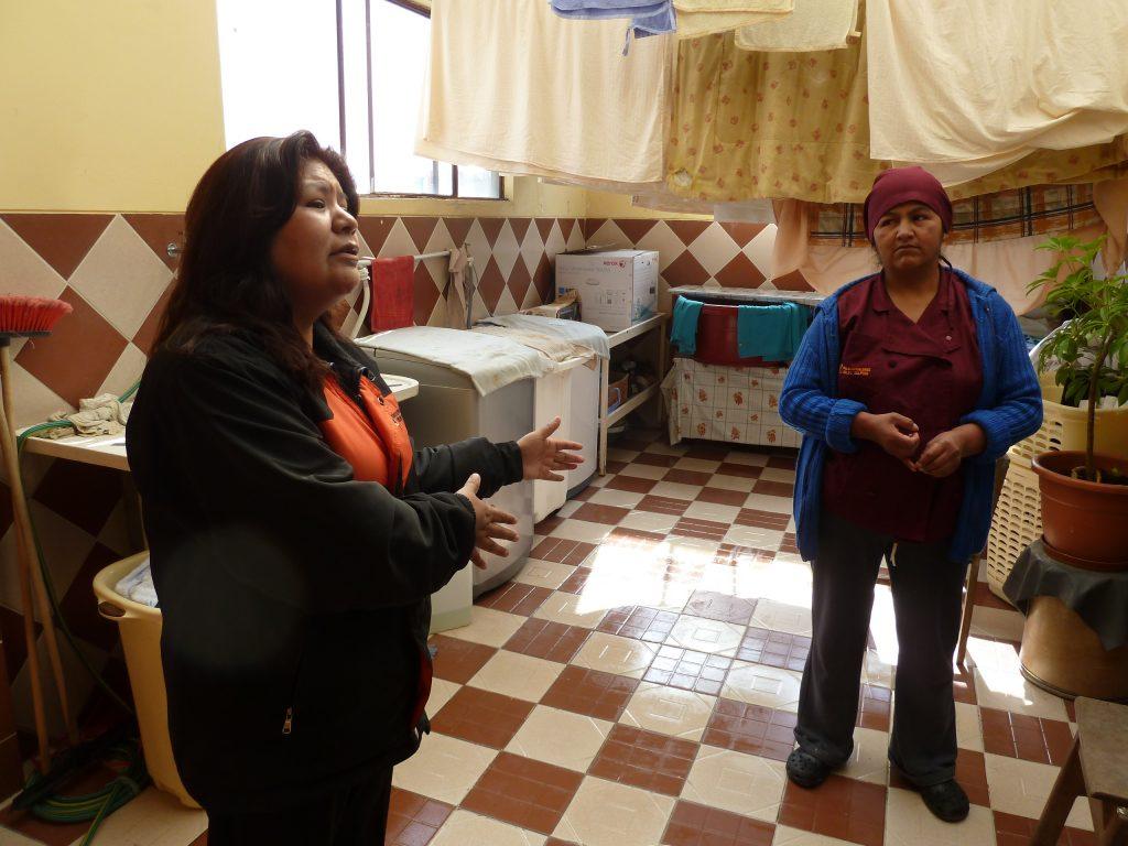 Zu Besuch in der Kolping-Klinik in La Paz.