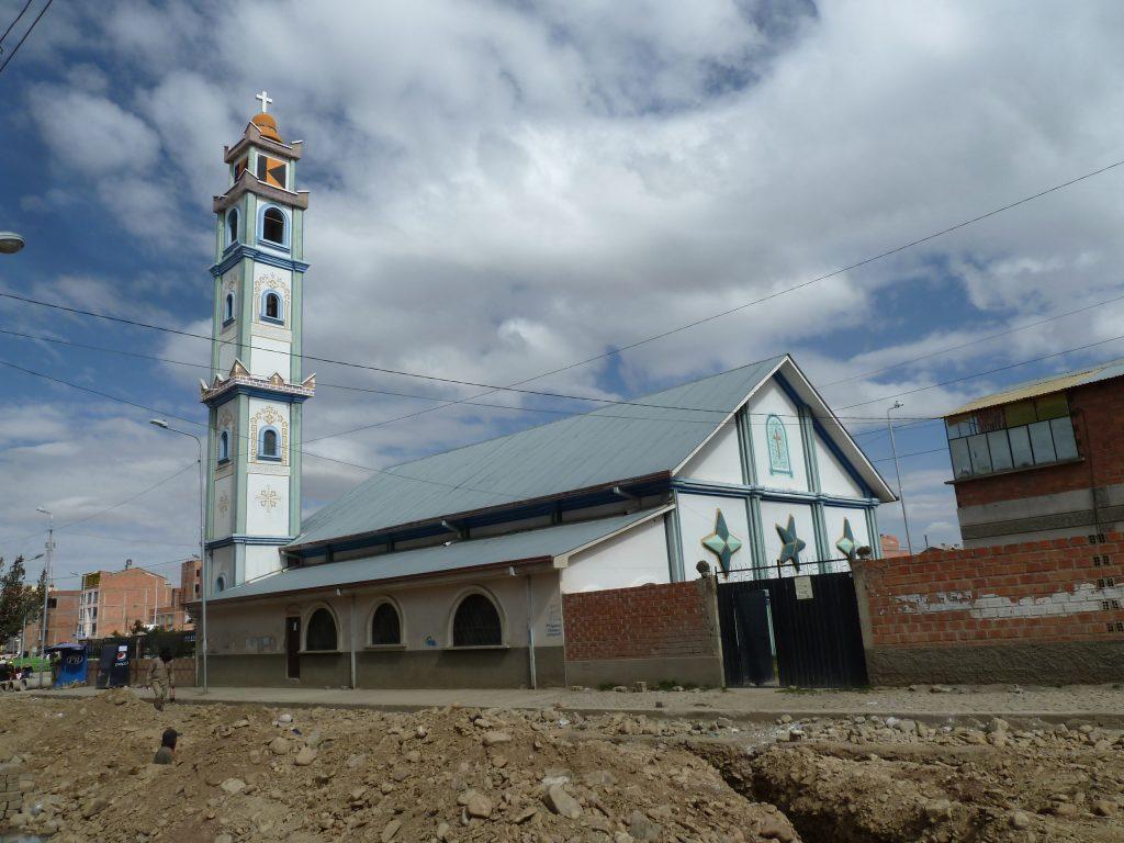 Die Kolping-Kirche in La Paz.