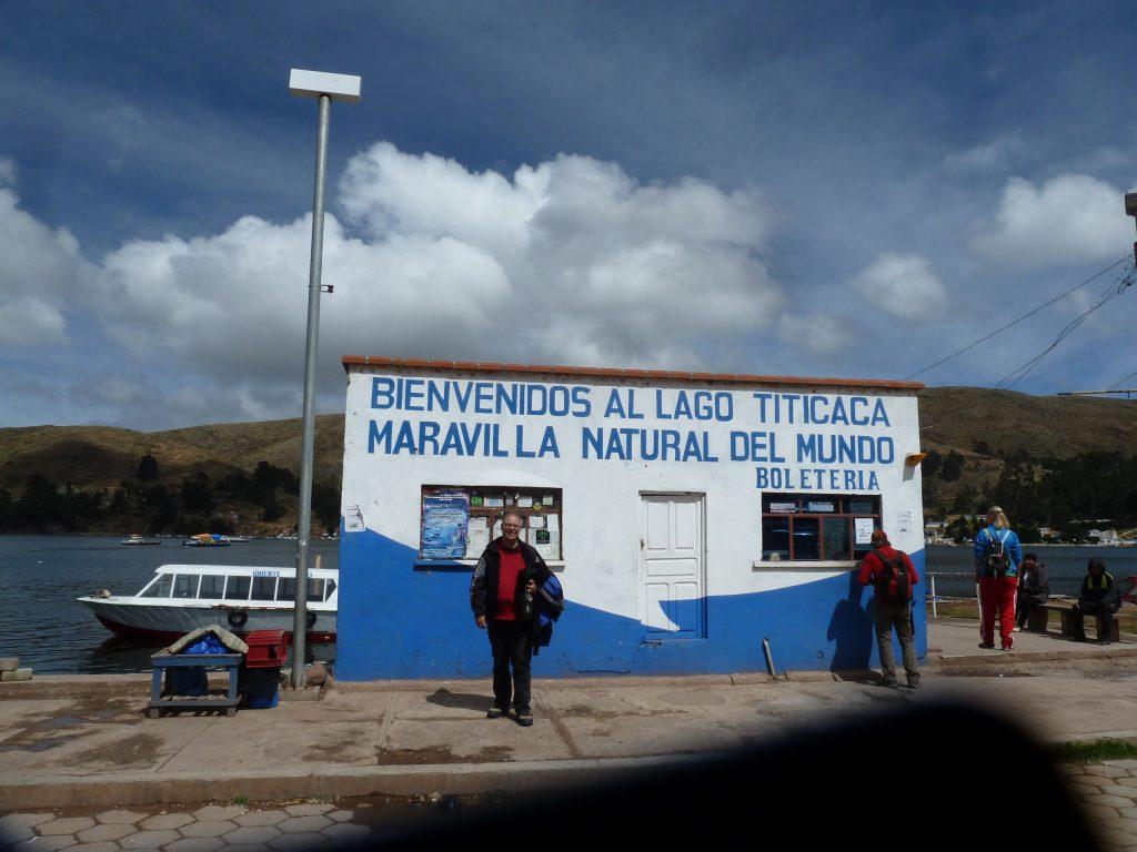 Willkommen am Titicacasee.