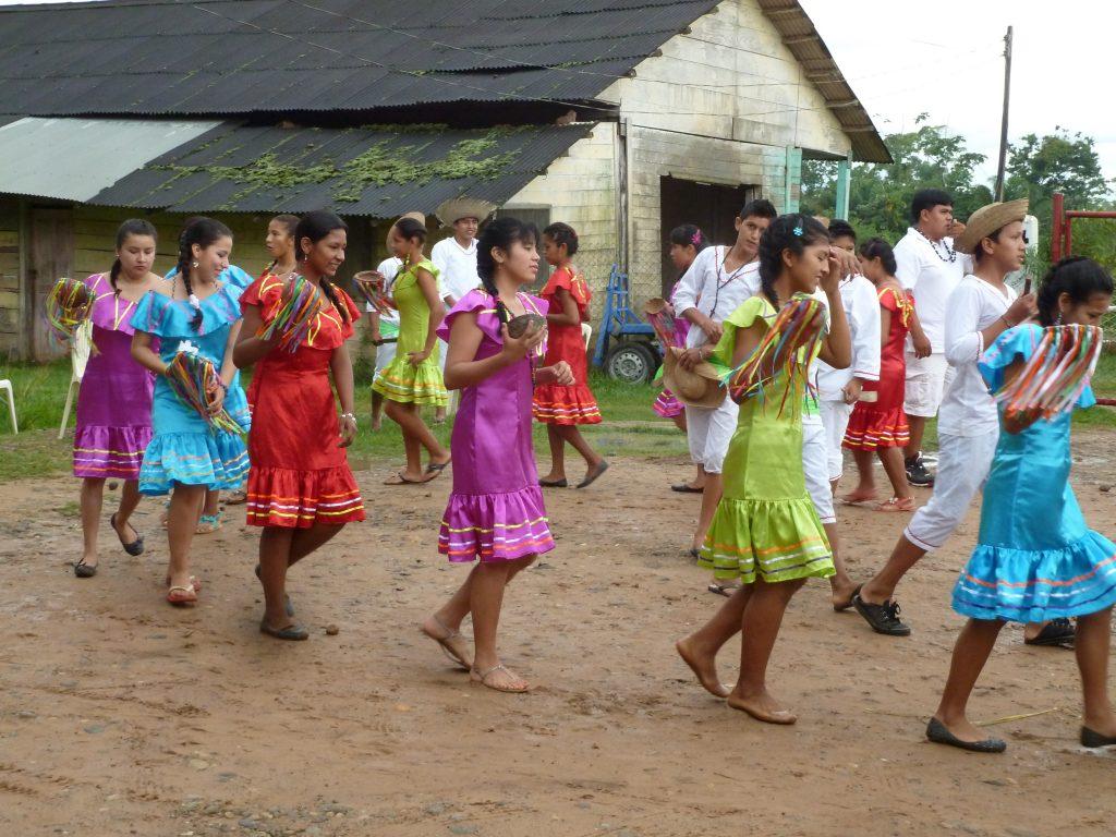 Mit einem Tanz aus dem bolivianischen Regenwald wurden wir verabschiedet.