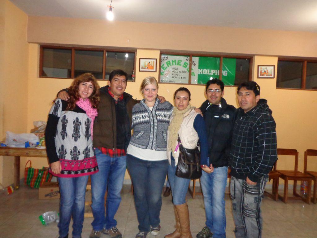 Jhovanka, Luis, ich, Shirley, Nico und Raúl